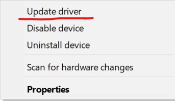 Update the Audio Driver